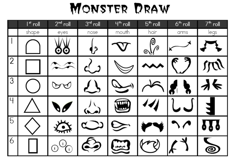 Halloween Monster Printables Printable Halloween Joke Book