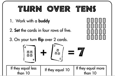 Math monday visual instruction plans second story window for Go fish instructions